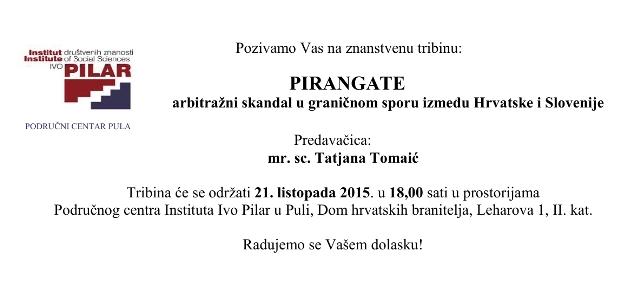 Pozivnica Pirangate